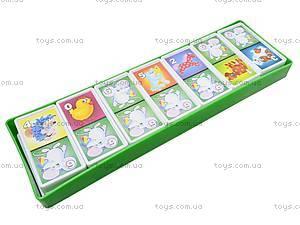 Детская настольная игра «Домино», 00009, фото