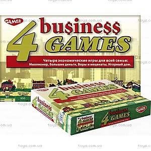 Детская настольная игра «4 экономические игры», 8004