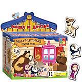 Магнитный театр «Маша и Медведь. Маша и друзья», VT3206-18, фото