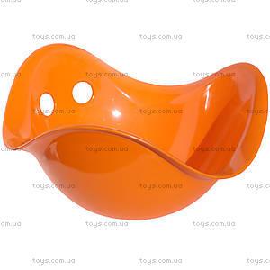 Детская оранжевая игрушка-качалка Билибо, 43006
