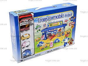Игрушечная парковка для детей «Робокар Поли», 660-198, игрушки