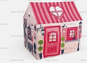 Детская палатка-домик для девочек, J03257, отзывы
