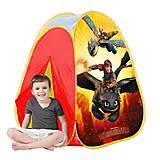 Детская палатка «Как приручить дракона», JN76144, игрушки