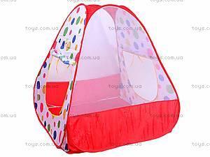 Детская палатка походная, 889-18B, детские игрушки