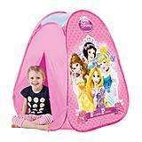 Детская палатка «Принцессы», лицензия, JN73144
