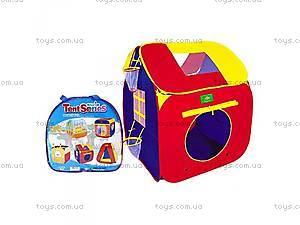 Детская палатка с баскетбольными кольцами,
