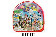 Детская палатка с мульт. героями, с переходом, A999-172, фото