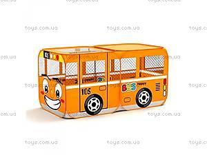 Детская палатка в форме автобуса,