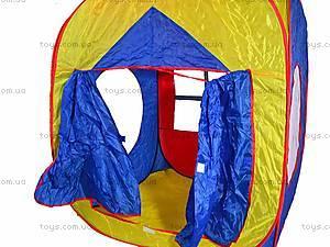 Детская палатка в сумке «Домик», M0507, фото