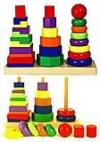 Детская парамидка Viga Toys, 50567, фото