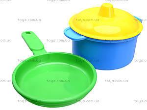 Детская печка с посудой, 1004, детские игрушки
