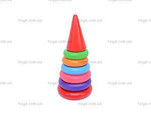 Детская пирамидка, 24 см, 017