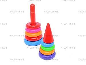 Детская пирамидка, 34 см, 018, отзывы