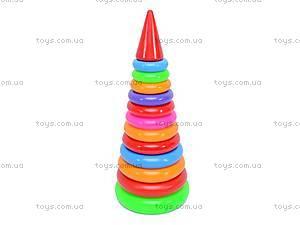 Пирамидка «Колечки», 019