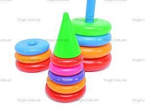 Детская пирамидка, 60см, 0191, купить