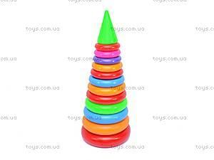 Детская пирамидка, 60 см., 0191