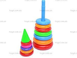 Детская пирамидка, 60 см., 0191, отзывы