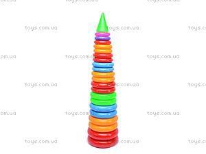Детская пирамидка, 91 см, 0192