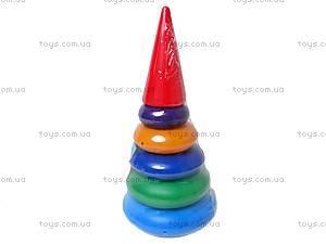 Детская пирамидка «Конус», , купить