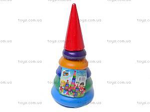 Детская пирамидка «Конус»,