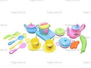 Детская плита с посудой, 782-2, фото