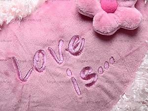 Детская подушка «Сердце-цветок», К103СМ, цена