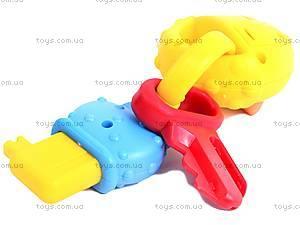 Детская погремушка «Брелок», 777-2, детские игрушки