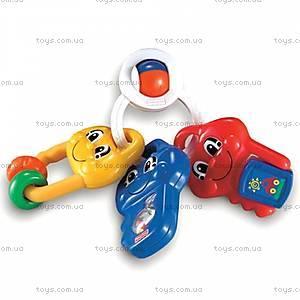 Детская погремушка «Музыкальные ключи», 74123, купить