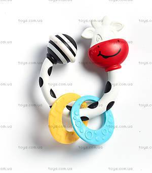 Детская погремушка-прорезыватель «Коровка», 1110500458