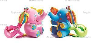 Детская погремушка «Слоник Элиси», 1106800046, купить