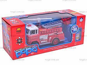 Детская пожарная машинка Fire Control, R216, отзывы