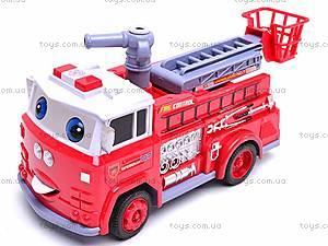 Детская пожарная машинка Fire Control, R216, игрушки