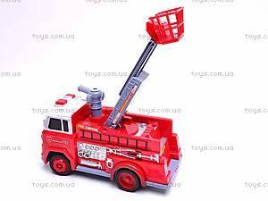 Детская пожарная машинка Fire Control, R216, детские игрушки