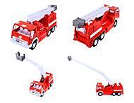 Детская пожарная машина, большая, 034, фото