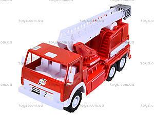 Детская пожарная машина, большая, 034, отзывы