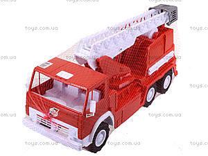 Детская пожарная машина, большая, 034, цена