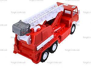 Детская пожарная машина, большая, 034, игрушки