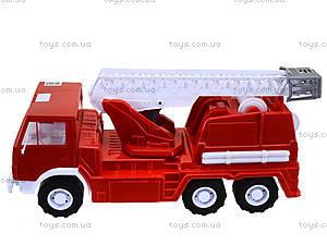 Детская пожарная машина, большая, 034, детские игрушки
