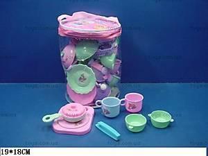 Детская посуда, в корзинке, 1235