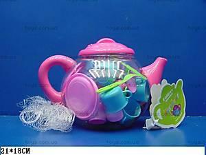Детская посудка с чайником, 7005