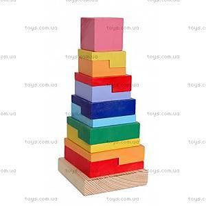 Детская пирамидка для малышей, Д007у, купить