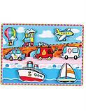 Детская рамка-вкладыш «Транспорт», 56436, фото