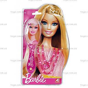 Детская расческа и ожерелье Barbie, 1027-25520