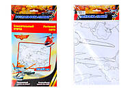 Детская раскраска-плакат «Летачки. Спасательный отряд», С457055РУ, фото