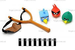 Детская рогатка с мячиками Angry Birds, KQ-DG-01
