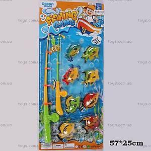 Детская рыбалка, с 8-ю рыбками, 336-10
