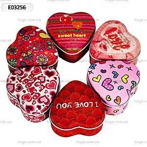Детская шкатулка «Сердце», E03256