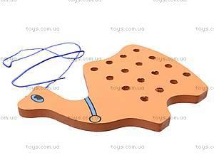 Детская шнуровка «Звери», 2593-2, купить