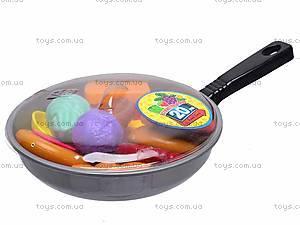 Детская сковородка с продуктами, 2386, купить