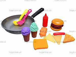 Детская сковородка с продуктами, 2386, фото